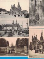 LOT DE 5 CARTES POSTALES DU MORBIHAN STE-ANNE-D'AURAY AURAY - France