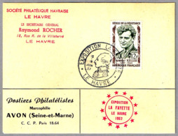 EXPOSICION LA FAYETTE. Le Havre, Francia, 1957 - Unabhängigkeit USA
