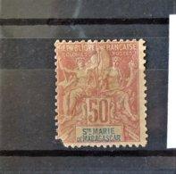 St Marie De Madagascar - N°11 - 2ème Choix - Madagascar – Sainte-Marie (1894-1898)