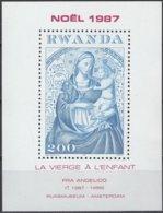 Rwanda 1987 OCBn° Bloc 101Yvertn°  Bloc 102  *** MNH Cote 9,50 Euro Noël Christmas - 1980-89: Neufs