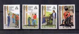 ISOLA DI ST. HELENA - 1981 - 125° Premio Duca D'Edimburgo - 4 Valori - Nuovi - Linguellati * - (FDC17260) - Isola Di Sant'Elena