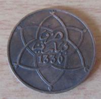 Maroc - Monnaie 10 Mazunas 1912 (1330) - Marruecos