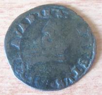 Pays-Bas Féodaux - Principauté épiscopale De Liège - Liard D'Ernest De Bavière (1581 - 1612) - [ 1] …-1795 : Période Ancienne