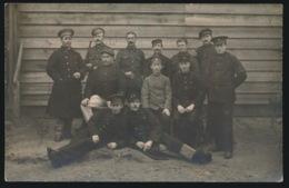 FOTOKAART   KRIJGSGEVANGENEN ??? - Guerre 1914-18