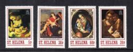 ISOLA DI ST. HELENA - 1988 - Natale - 4 Valori - Nuovi - Linguellati * - (FDC17261) - Isola Di Sant'Elena