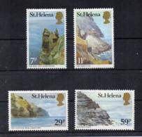ISOLA DI ST. HELENA - 1983 - Vedute - 4 Valori - Nuovi - Linguellati * - (FDC17262) - Isola Di Sant'Elena