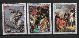 HAUTE VOLTA - NAPOLEON - POSTE AERIENNE YVERT N° 70/72 ** MNH - COTE = 17.6 EUR - Upper Volta (1958-1984)