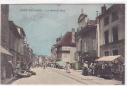 Ain - Pont-de-Vaux - La Grande-Rue - Pont-de-Vaux