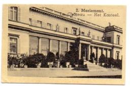 Chromo - Kasteel Mariemont - Visitekaartje Apotheker De Ketelaere - Tielt - Non Classés
