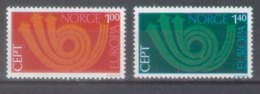 Norway 1973; Europa Cept , Michel 660-661.** (MNH) - 1973