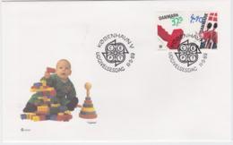 Denmark FDC 1989 Europa CEPT (SKO15-37) - 1989