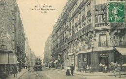 PARIS - La Rue Damrémont. - Distretto: 18