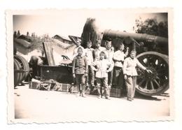 3 PHOTOS DE MILITAIRE  / 253eme REGIMENT ?  1940 / MATERIEL MILITARIA      B897 - Guerre, Militaire