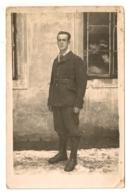 CARTE PHOTO SOLDAT PRISONNIER  STALAG XVII B  MILITARIA      B900 - Personajes