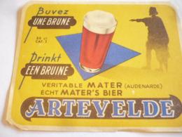 Belgische Bier Etiket Artevelde Mater - Alcohols