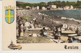 CP - PHOTO - TOULON - PLAGE DES SABLETTES - 51 - ANIMÉE - COMBIER - Toulon
