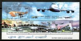 India 2012 / Aviation Airplanes MNH Aviacion Aviones Luftfahrt / Cu14809  29-36 - Flugzeuge