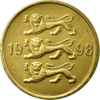 Monnaie, Estonia, 10 Senti, 1998, No Mint, TTB, Aluminum-Bronze, KM:22 - Estonie