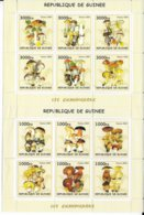 GUINEE - 2002 - SERIES COMPLETES ** MNH - CHAMPIGNONS - Guinea (1958-...)