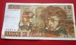1972 Monnaie Billets De Banque Bank Billet FRANCE 1962-1997 ''Francs''  10 F 1963-1973 ''Berlioz'' - 10 F 1972-1978 ''Berlioz''