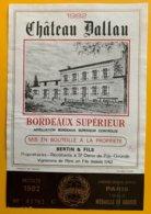 11696 - Château Dallau 1982 - Bordeaux