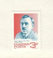 HONGRIE 1989  K.WALLISCH  Yvert: 3200  NEUF MNH** - Unused Stamps