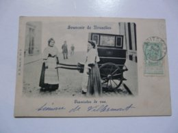 CPA BELGIQUE - BRUXELLES : Pianistes De Rue - Ambachten
