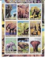 GUINEE - 2000 - SERIE COMPLETE ** MNH - ELEPHANTS - Guinea (1958-...)