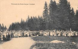 Lamoura Canton Saint Claude Promenade Des écoles Laïques - France