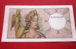 ÉCHANTILLON  Monnaie Billets De Banque Bank Billet FRANCE Fictif & Spécimen - Specimen