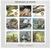GUINEE - 2002 - SERIE COMPLETE ** MNH - ANIMAUX SAUVAGES - Guinea (1958-...)