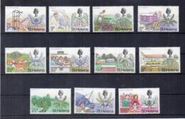 ISOLA DI ST. HELENA - 1971 - Valuta Decimale - 11 Valori - Nuovi - Linguellati * - (FDC17264) - Isola Di Sant'Elena