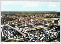 Carte Postale 01. Villars-les-Dombes  Et Le Camping Vue Aérienne Trés Beau Plan - Villars-les-Dombes