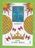 CPM Illustrateur Jean Luc Perrigault. Epiphanie Club La Féve Royale.Papillons. - Illustrateurs & Photographes