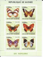 GUINEE - 2002 - SERIE COMPLETE ** MNH - PAPILLONS - Guinea (1958-...)