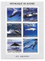 GUINEE - 2002 - SERIE COMPLETE ** MNH - DAUPHINS - Guinea (1958-...)