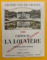11711 - Château La Louvière 1980 Graves - Bordeaux