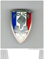INSIGNE   DE  LA  POLICE   . - Policia