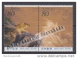 Japan - Japon 2000 Yvert 2801-02, Philatelic Week, Paintings - MNH - 1989-... Kaiser Akihito (Heisei Era)