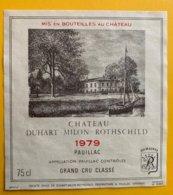 11713 - Château Duhart-Milon-Rothschild 1979 Pauillac - Bordeaux