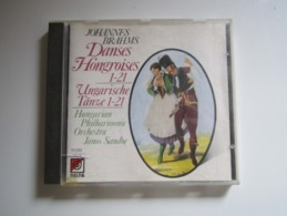 CD JOHANNES BRAHMS DANSE HONGROISES 1-21 Ungarische Tänze 1-21 Hungarian Philharmonic Orchestra Janos Sandor - Classical