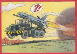 HUMOUR MILITAIRE - Illustrateur Jean-Pol-SUP - 2 SCAN - Humor