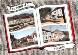 ¤¤   -   OTTANGE   - Souvenir D' .......  -  Vue Centrale, Rues Differdange Et Principale, Grande-Rue    -   ¤¤ - Francia