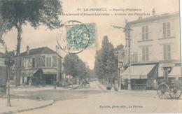 94) LE PERREUX : Neuilly-Plaisance - Bd D'Alsace-Lorraine - Avenue Des Peupliers (1907) - Le Perreux Sur Marne