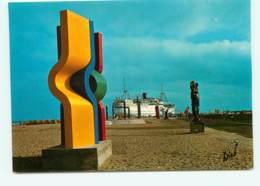 Port Barcares, L'Allee Des Arts (scan Recto-verso) KEVREN0064 - Port Barcares