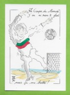 CPM Illustrateur Jean Luc Perrigault.La Coupe Du Monde.  Sport. Italie. - Illustrateurs & Photographes