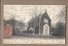 CPA 78 - JOUY-EN-JOSAS - Le Temple - SUPERBE PLAN EDIFCIE RELIGIEUX PROTESTANTISME - CP Voyagée 1903 - Jouy En Josas