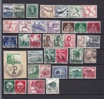 Deutsches Reich - 1936/39 - Sammlung - Gest. - Deutschland