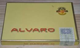 Cigares Alvaro - Boite De 10 Cigares - Islas Canarias - RARE - Pour Collectionneur - Non Classificati
