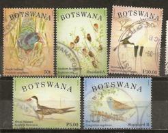Botswana 2014 Oiseaux Birds Obl - Botswana (1966-...)